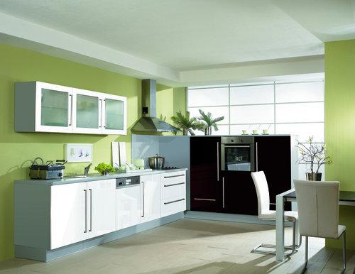Deco cuisine vert et gris - Cuisine verte et grise ...