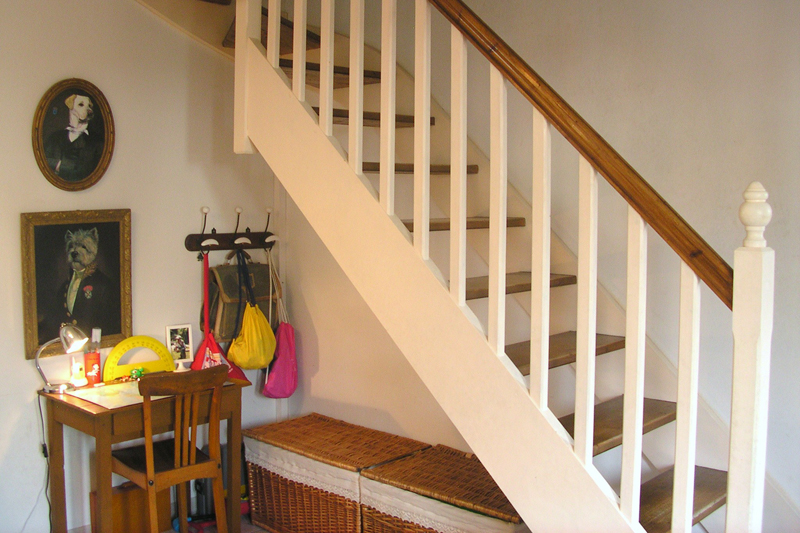 deco escalier bois - Photo Déco