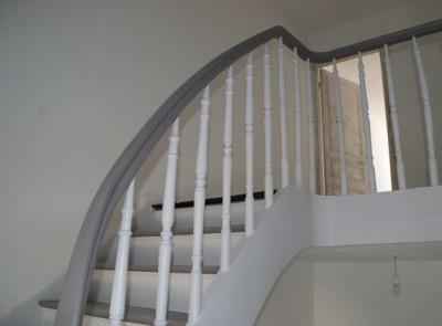 aménagement deco escalier peint