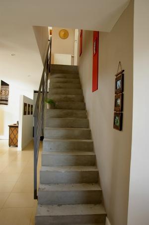 deco escalier peint. Black Bedroom Furniture Sets. Home Design Ideas