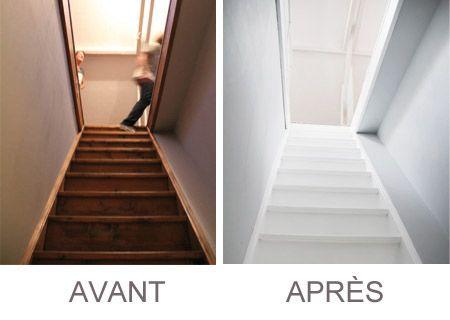 Organisation Deco Escalier Peint