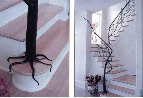 aménagement deco rampe escalier