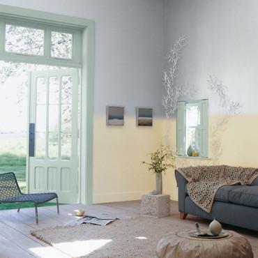Deco salon couleur pastel - Couleur pastel pour salon ...