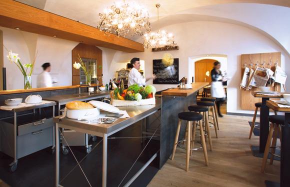 Jolie deco salon cuisine aire ouverte - Photo Déco