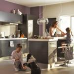 deco salon et cuisine ouverte