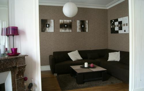 Deco Salon Blanc Et Noir. Free Deco Salon Gris Et Blanc Enchanteur ...