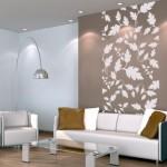 deco salon papier peint