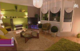 deco salon vert anis et gris. Black Bedroom Furniture Sets. Home Design Ideas