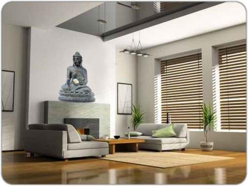 Idee deco salon zen bouddha - Deco zen salon ...