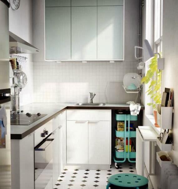 Célèbre idée decoration cuisine petit espace AE84