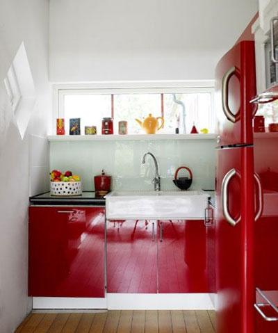 decoration cuisine petit espace. Black Bedroom Furniture Sets. Home Design Ideas