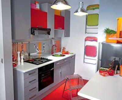 Decoration cuisine petit espace for Cuisine equipee petit espace