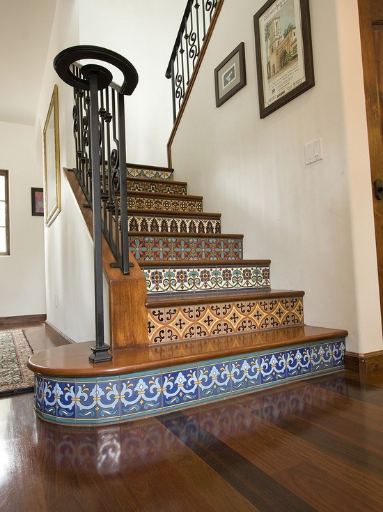 belle decoration escalier maison