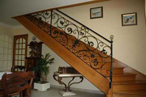 exemple decoration escalier maison