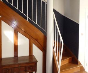 decoration haut escalier