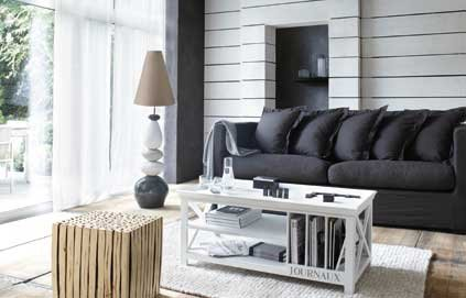 decoration salon bord de mer. Black Bedroom Furniture Sets. Home Design Ideas