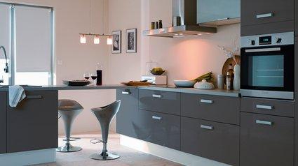 cuisine noire quelle couleur pour les murs - Cuisine Noir Quel Couleur Mur