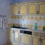 cuisine provencale verte et jaune