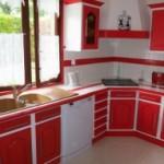 Photo Cuisine Repeinte Rouge Photo Deco