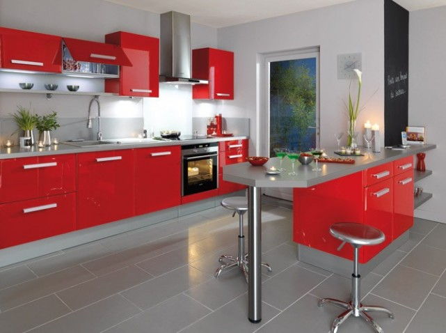 Cuisine rouge gossip for Jolie cuisine