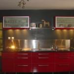 cuisine rouge ikea occasion
