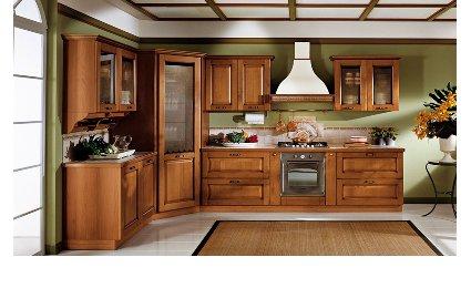 Deco cuisine bois for Cuisine complete en bois