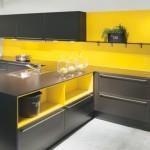 Deco cuisine jaune et gris for Cuisine jaune et gris