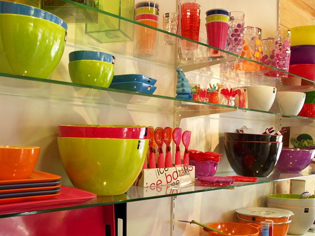 Deco cuisine multicolore for Exemple deco cuisine