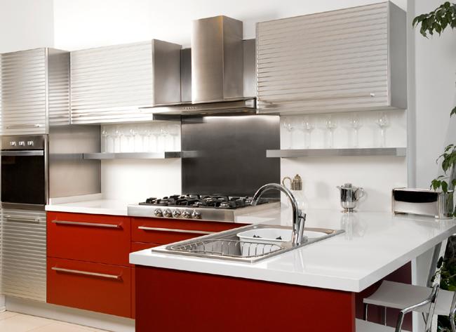 Photo decoration deco hotte cuisine - Hotte aspirante industrielle cuisine ...