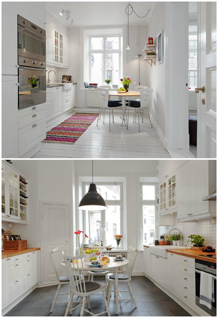 decoration cuisine nordique. Black Bedroom Furniture Sets. Home Design Ideas