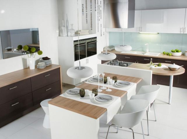 Decoration cuisine ouverte salle manger for Jolie cuisine ouverte