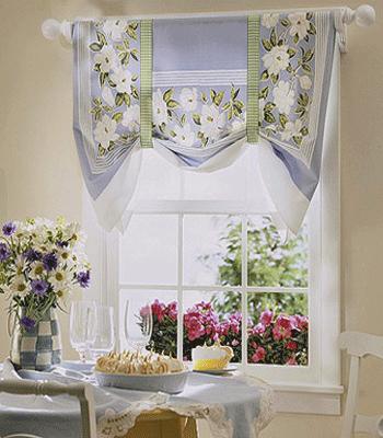 Photo decoration cuisine rideaux - Photo Déco