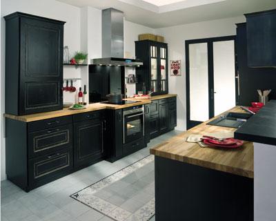 Univers Cuisine Ikea Noir Et Bois