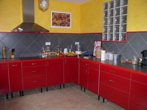cuisine rouge ikea photo
