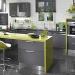 cuisine verte et noire