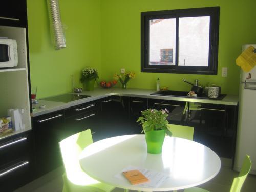 peinture verte cuisine cuisine design suisse peinture. Black Bedroom Furniture Sets. Home Design Ideas