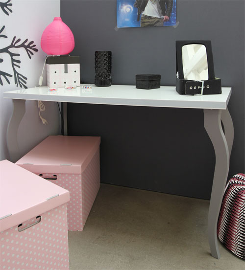 d co bureau fille. Black Bedroom Furniture Sets. Home Design Ideas