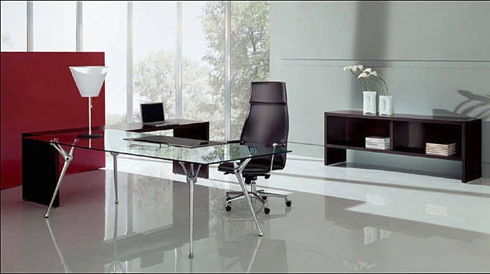 Bureaux modernes - tables de travail pour ordinateur Structube