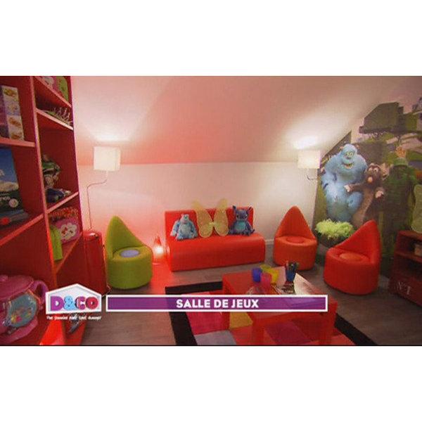 D co salle de jeux adulte for Exemple de decoration de chambre adulte