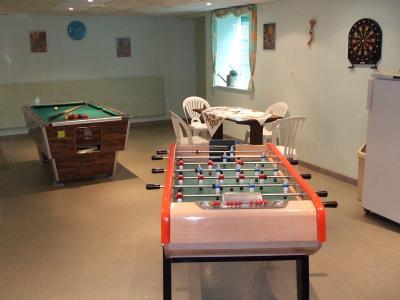 D co salle de jeux billard Jeux de decoration la maison