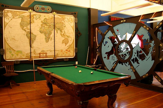 d co salle de jeux billard. Black Bedroom Furniture Sets. Home Design Ideas