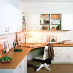 décoration bureau de travail maison