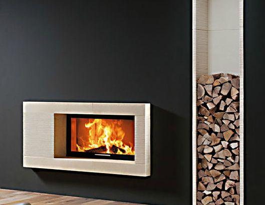 aménagement décoration cheminée design