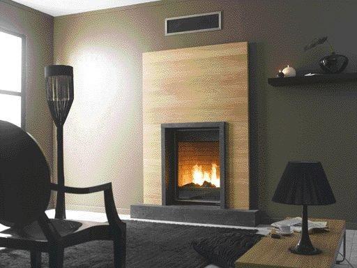 d coration de chemin e moderne. Black Bedroom Furniture Sets. Home Design Ideas
