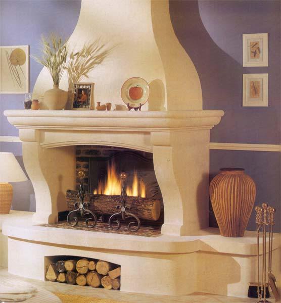 décoration maison avec cheminee