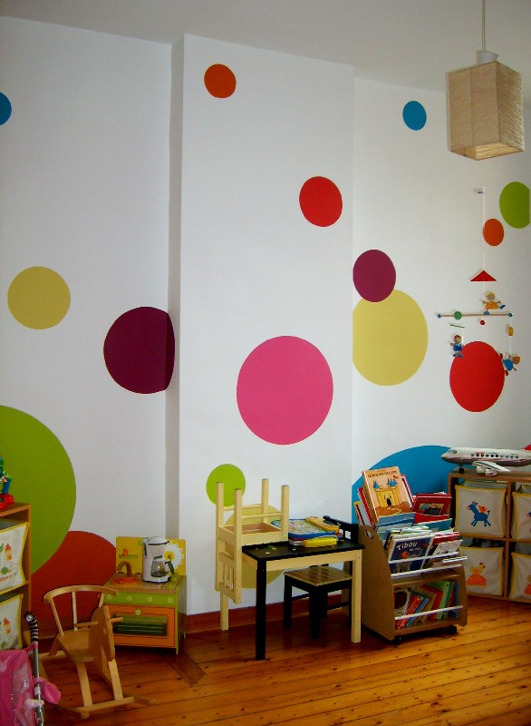 décoration salle de jeux fille