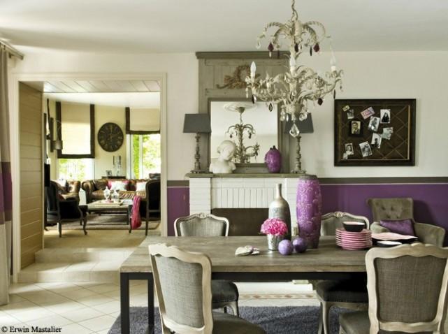 exemple déco salle à manger style contemporain - Decoration Salle A Manger Contemporaine