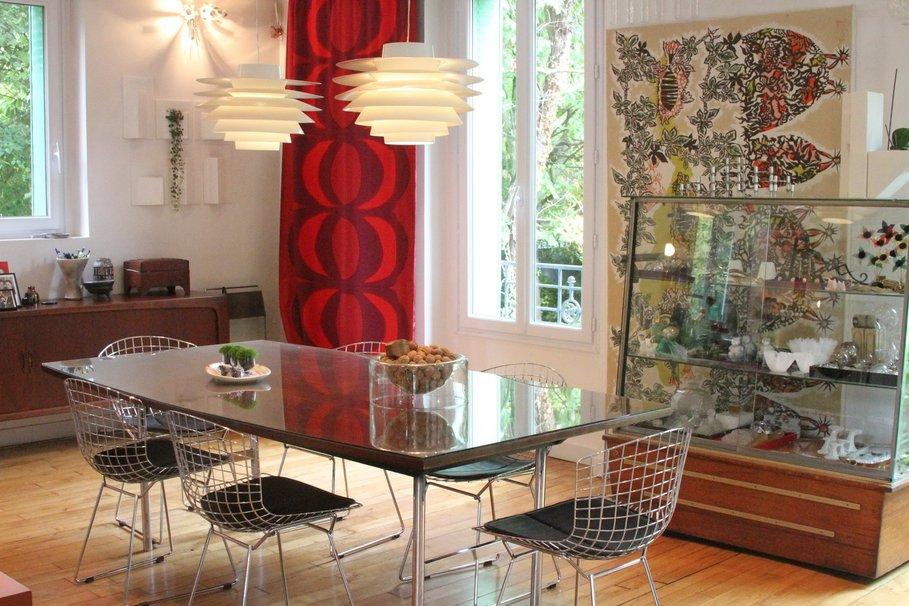 modèle déco salle à manger style contemporain