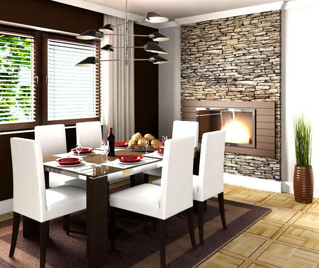 D co salle manger style contemporain - Deco style contemporain ...