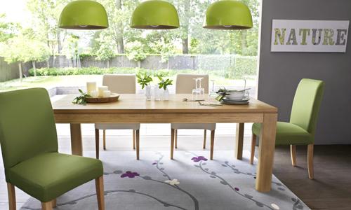 D co salle manger violet for Jolie salle a manger